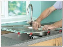 caulk kitchen sink