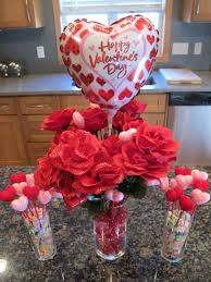 frugal valentine u0027s day decor table centerpiece total cost 16