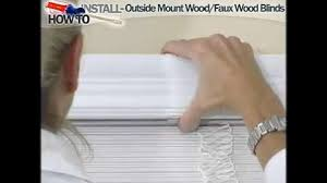 Shortening Faux Wood Blinds Home Decorators Collection Faux Wood Blinds Home Decorators