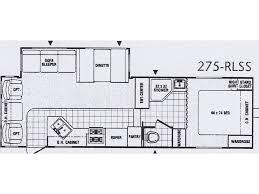 100 puma 5th wheel floor plans 2018 palomino puma 295bhss