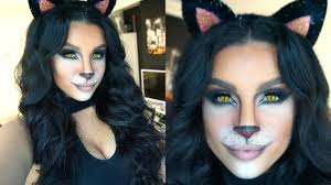 feline glam halloween makeup tutorial 2015 makeup by leyla