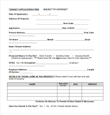 10 free download rental application templates free u0026 premium