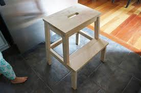 Ikea Stepping Stool Freckles Spruced Up Step Stool Ikea Bekvam