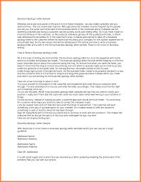 Formal Business Letter Template 5 Company Apology Letter Company Letterhead