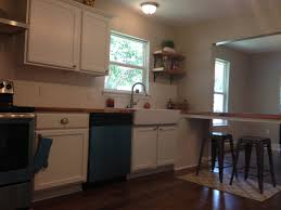 experience on butcher block countertop for house flip