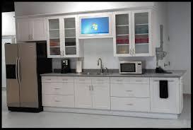kitchen simple refrigerator white kitchen interior design