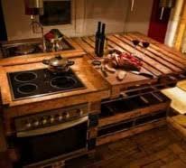 k che aus paletten holzpaletten tolle diy ideen für küchen und essräume