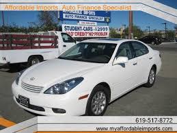 lexus es300 2002 lexus es 300 california 13 white lexus es 300 used cars in