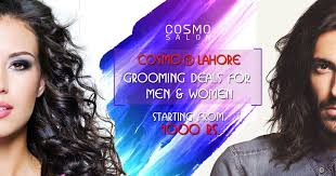 haircut deals lahore salon deals in lahore best beauty parlour deals cosmo beauty salon