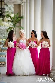 fuschia wedding dress ella