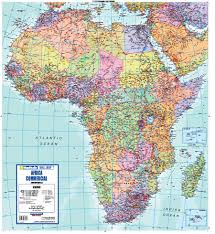 the map of africa maps4africa the at your fingertips