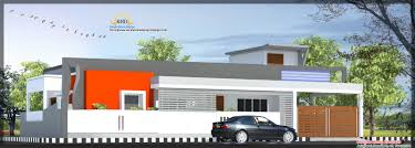 single floor house plan and elevation 1480 sq ft kerala