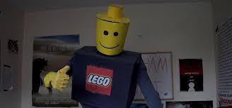Lego Brick Halloween Costume Lego Man Halloween Costume Based Lego Movie