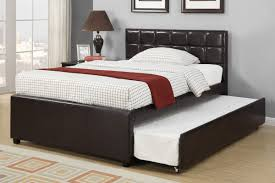 Queen Size Daybed Frame Bedroom Cozy Wood Tile Flooring With Black Daybed With Trundle
