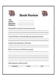 english teaching worksheets book reviews