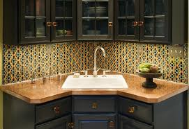 how to use corner kitchen sink u2014 the decoras