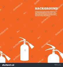 modern design background fire extinguisher sign stock vector