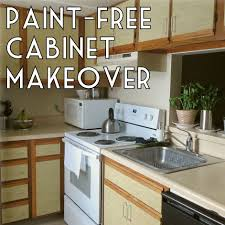 how to make over your kitchen cabinets without paint u2013 the decor guru