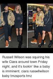 Ciara Meme - i see mo w russell wilson was squiring his wife ciara around town