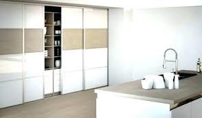 meuble de cuisine porte coulissante porte de cuisine coulissante de cuisine a porte coulissante portes