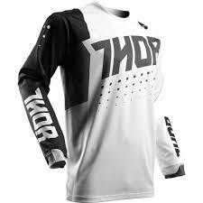kids motocross gear australia thor 2017 pulse aktiv white black kids jersey at mxstore