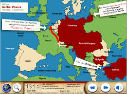 Europe Map Ww1 World War One Ww1 For Kids Android Apps On Google Play