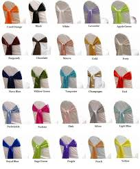 satin chair sashes 21 best chair sashes images on chair covers chair
