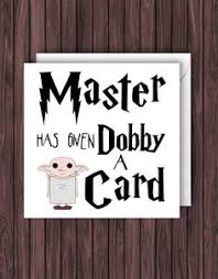 sneep 394 harry potter card grappig groeten card geek leeg