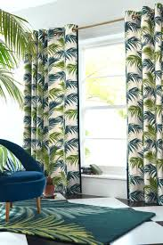 Hawaiian Print Shower Curtains by Buy Loreto Palm Leaf Print Eyelet Curtains From The Next Uk Online