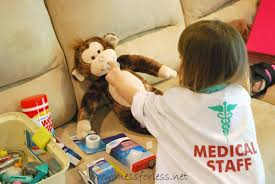 pretend play vet s office with free printable mess for less