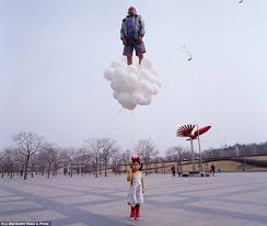 balloons that float come fly with me wish artist li wei creates amazing