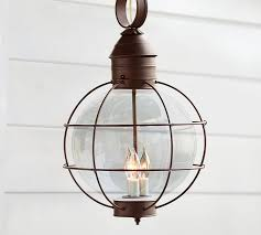 Fishermans Pendant Light Fisherman S Indoor Outdoor Pendant Pottery Barn