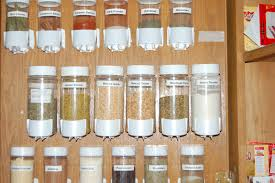 10 practical spice storage ideas for small kitchens small room ideas adhesive backed jar holders