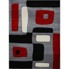 Black And Gray Area Rug Flooring Charming Walmart Rugs Design With Wood Flooring Also
