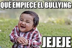 No Al Bullying Memes - qué empiece el bullying evil kid meme en memegen
