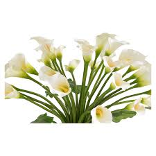 lilies flowers bouquet of white lilies flower arrangement el dorado furniture
