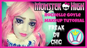 Halloween Monster High Makeup by Monster High Freak Du Chic Rochelle Goyle Makeup Tutorial