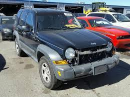 2006 black jeep liberty 1j4gl48k76w173937 2006 black jeep liberty on sale in co denver