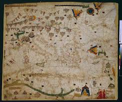 Map Of The Mediterranean 15th Century Portolan Map Of The Mediterranean U0026 Black Sea By
