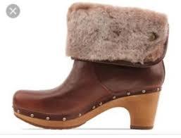 womens ugg lynnea boots s ugg australia lynnea ii brownstone clog boots 1001793
