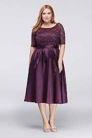 plus size purple bridesmaid dresses plus size cocktail dresses david s bridal