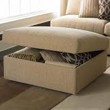 coffee tables cushion coffee table with storage brown ottoman