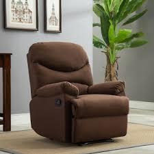 microfiber recliner chairs u0026 rocking recliners shop the best