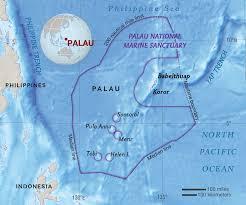 Palau Map Palau National Geographic Society