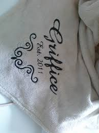 wedding gift craft ideas an embroidered blanket for a wedding gift craft ideas