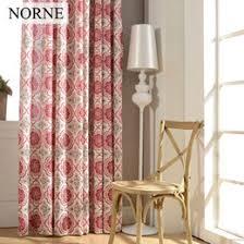 discount modern printed window curtains 2017 modern printed