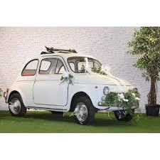 kit deco voiture mariage kit décoration voiture mariage blanc un jour spécial