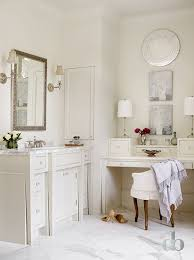 Ornate Vanity Table Master Bathroom With Built In Makeup Table Cottage Bathroom