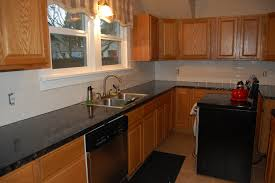 kitchen glamorous brown painted kitchen cabinets before and