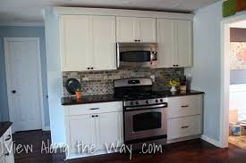 Small Kitchen Remodel Featuring Slate Tile Backsplash by Lessons Learned From A Disappointing Kitchen Remodel